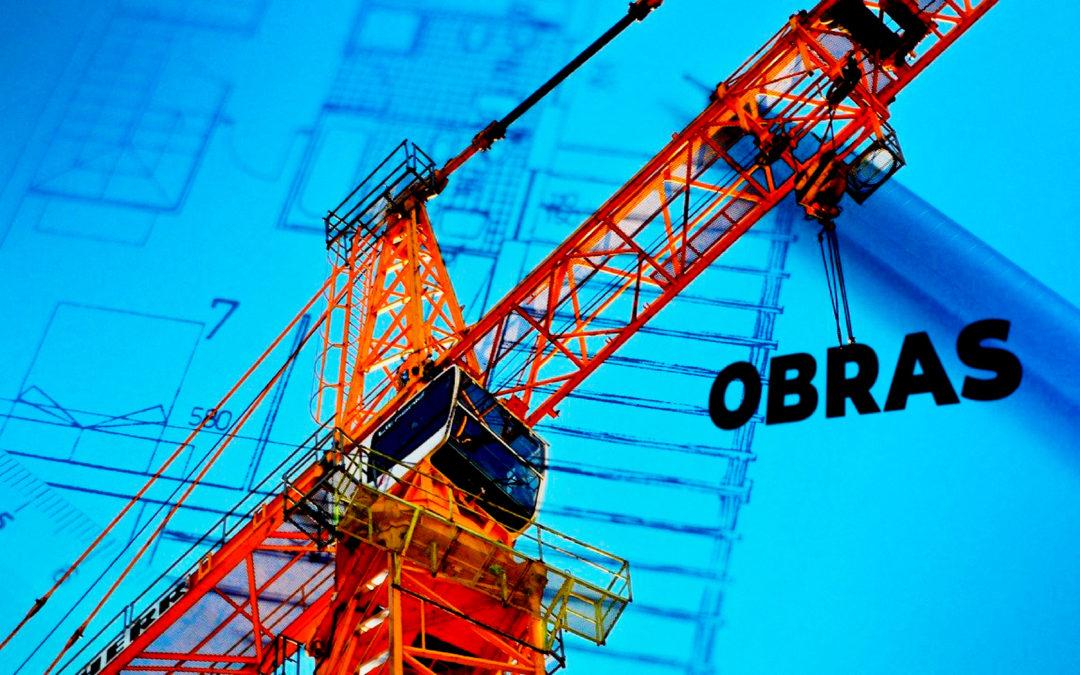Obras! Da fundação ao acabamento.